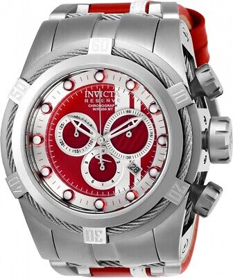 Invicta 26468 Reserve Men's Chronograph Bolt Zeus Race Team 53mm Dial Watch