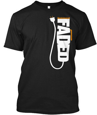 Faded Best Barber !! - Hanes Tagless Tee
