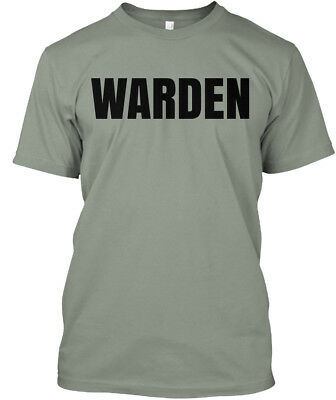 Warden Prison Halloween Costume - Premium Tee T-Shirt