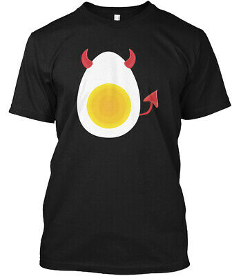 Deviled Egg Costume Halloween Hanes Tagless Tee T-Shirt](Deviled Egg Halloween Costume)