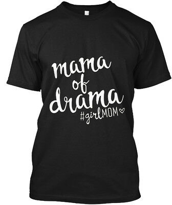 Mama Of Drama Funny S - #girlmom Hanes Tagless Tee T-Shirt