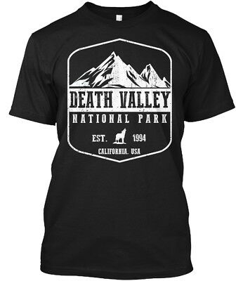 Death Valley National Park   Estates 1994 California Hanes Tagless Tee T Shirt