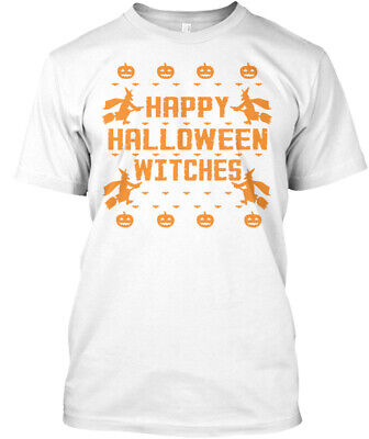 Happy Pre Halloween (Happy Halloween Witches Pre Hanes Tagless Tee)