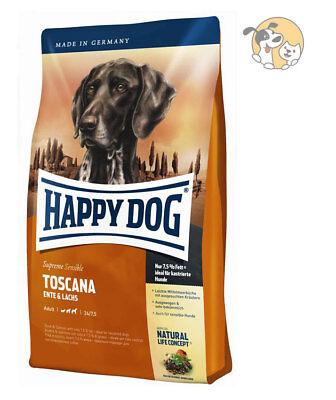 Happy Dog Supreme Sensible Toscana 12,5kg | Hundefutter | Ente & Lachs