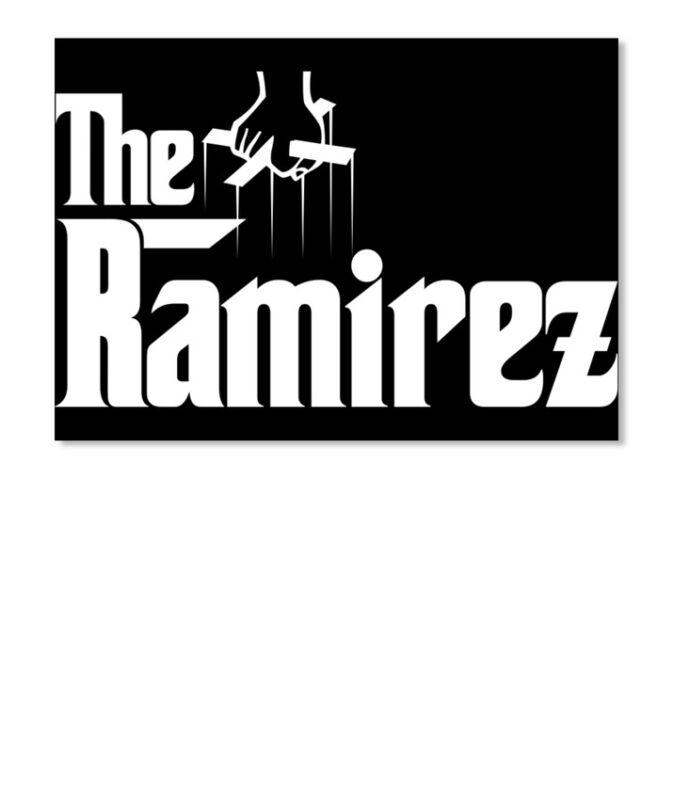 Ramirez The Family Tee Sticker - Landscape