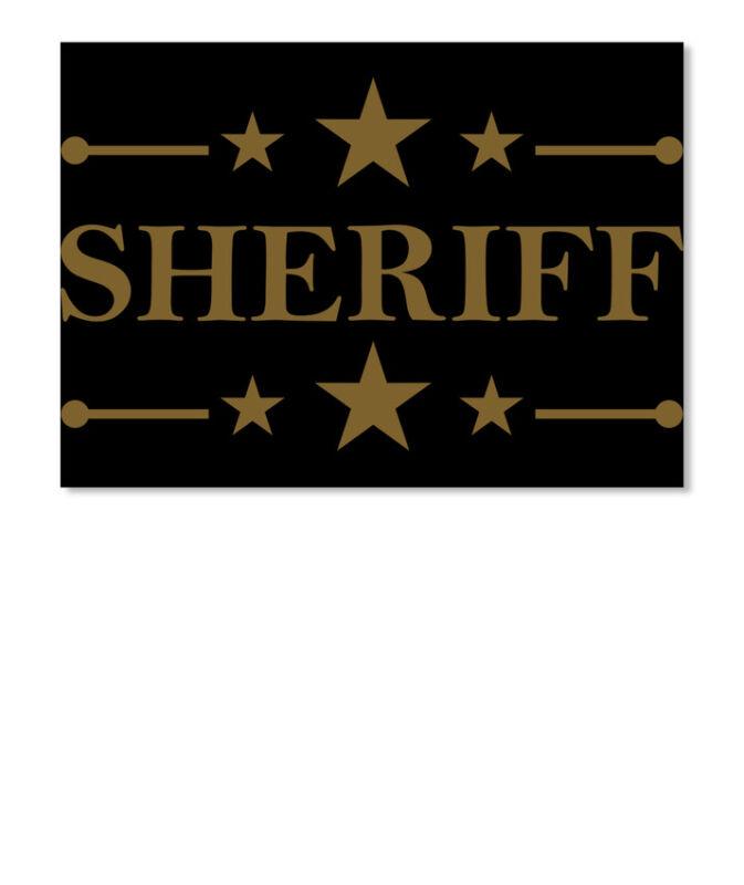 Sheriff K9 Official Sticker - Landscape