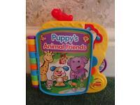 Puppy's animal friends music book