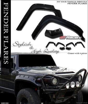 For 2007-2014 Toyota Fj Cruiser Black Pocket Style Fender Flares Wheel Cover 6Pc