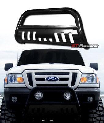 For 1998-2011 Ford Ranger Black Hd Bull Bar Brush Push Bumper Grill Grille Guard