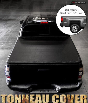 For 2001-2003 F150 Super Crew Cab 5.5 Ft Short Bed Snap-On Vinyl Tonneau Cover Cab Short Bed Seal