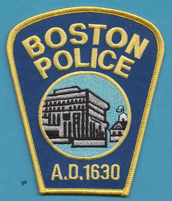 BOSTON MASSACHUSETTS  POLICE SHOULDER PATCH