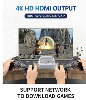 HD 4K TV Video Game Super Console X-pro For PS1/N64/DC 50+ Emulators 30000+ Game