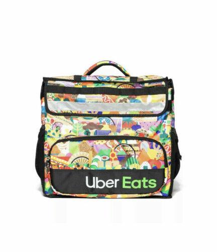 Uber Eats Insulated Backpack Limit Edition Artist Series Bag Melanie Sophia