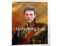 Custom Oil Portrait Painting from Photo