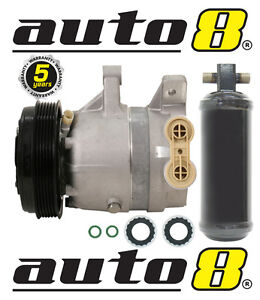 New Air Conditioning Compressor & Drier To Fit Holden Commodore VT VX VY V6