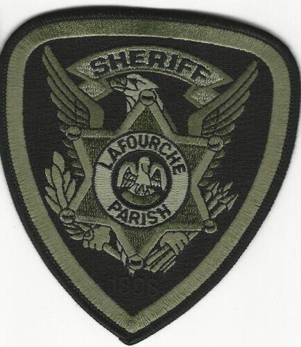 SWAT SRT Subdued Lafourche Parish County Sheriff State Louisiana LA