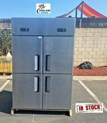 Four Door Commercial Freezer Al32cooler Restaurant Equipmentcommercial