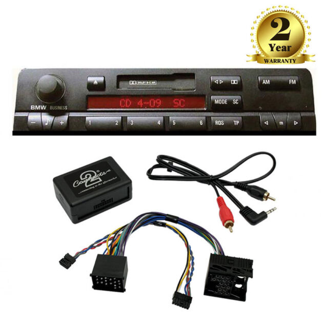 BMW 3 5 7 Series AUX in iPod iPhone MP3 Player Adaptor Interface E46 E39 E38