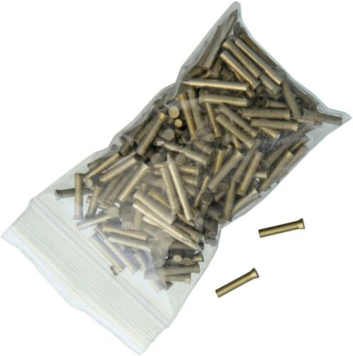Schrade Handle Pins For Knife Making Full 1/10 Pound Bag Brass Construction