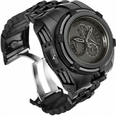 THE COMBAT BEAST Invicta Reserve Stealth Black Bolt Zeus Tria 3 Swiss Mvmt Watch