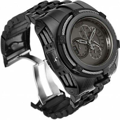 THE COMBAT BEAST Invicta Reserve Stealth Black Bolt Zeus Tria 3 Swiss Mvmt Watch