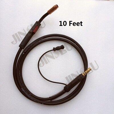 Mig Gun 3m 10 Ft Fits Lincoln 180 Pro-mig Wire Feed Welder K2481-1