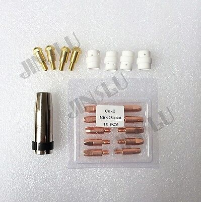 19pcs Kit North 24 Kd Mig Gun Spool Gun Wire Feed Aluminum Steel