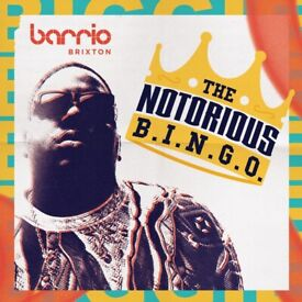 THE NOTORIOUS B.I.N.G.O AND BOTTOMLESS BRUNCH