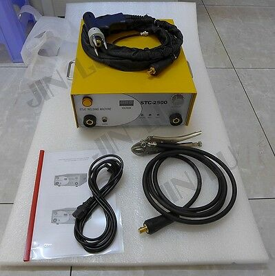 220v Stc-2500 Capacitor Discharge Cd Stud Welder Spot Welding Machine M3-m10