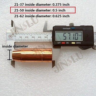 2PK 21-50 Nozzle for Norstar Mig spool gun SL-100 MIG Welders