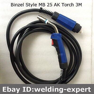 200a 3m 10feet Mig Gun Welding Torch Complete For Esab Welder Migmaster 250