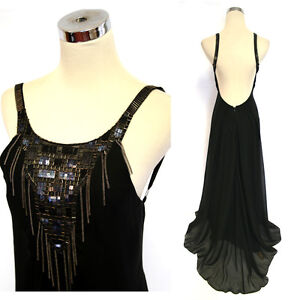 NWT-BCBG-MAX-AZRIA-548-Black-Formal-Evening-Gown-4