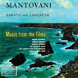 Mantovani - Music From The Films CD