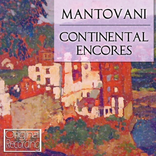 Mantovani - Continental Encores CD