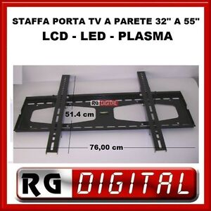 Staffa supporto braccio porta tv da 32 a 55 pollici lcd - Supporto porta tv ...