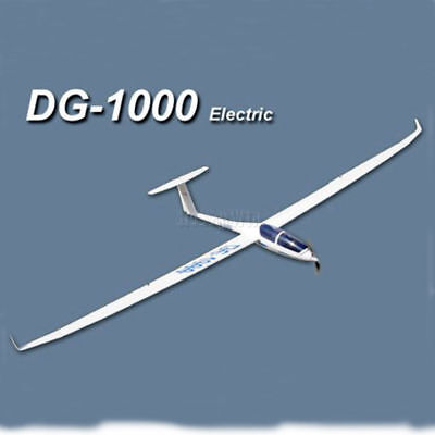 DG-1000 Electric Glider 2630mm ARF without electric part Fiberglass RC Sailplane