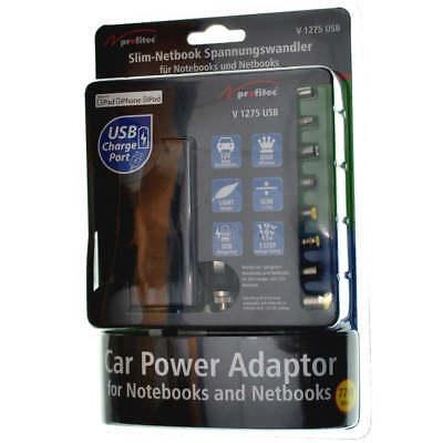Slim-Netbook Spannungswandler von 12 V auf 15/16/19V + USB