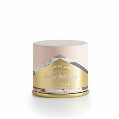 Illume  Demi Vanity Tin Candle Coconut Milk Mango  3 oz