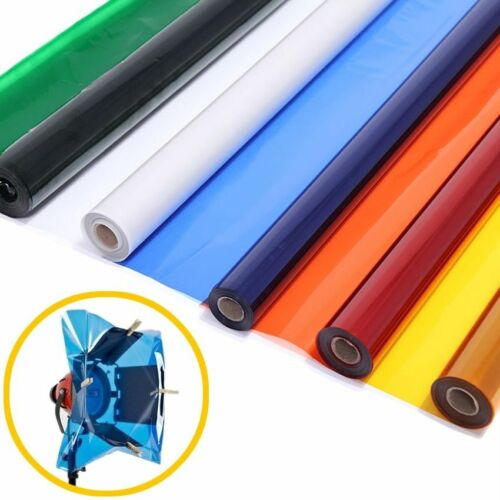 """40*50cm Stage Studio Reflector 15.7*19.6"""" Color Paper Gels Photography Supplies"""