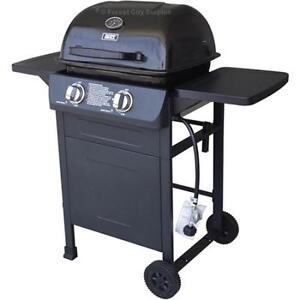 New DUAL BURNER GAS BBQ - FULLY ASSEMBLED READY TO COOK - Compare Big Box Store Surplus Prices!