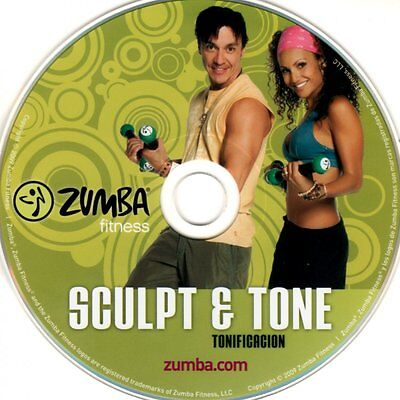 Zumba DVD Sculpt & Tone mit OVP Fitness 100%