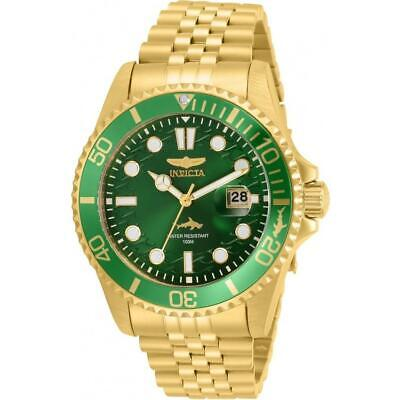 Invicta 30615 Pro Diver 43MM Men's Gold-Tone Stainless Steel Watch
