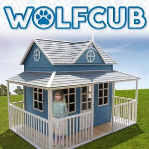 Victorian Playhouse Cubby House Melbourne Region Preview