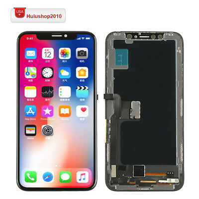 - US Display LCD Screen Touch Screen Digitizer Frame Replacement For iPhone X 10