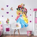 Disney Princess muursticker XXL , Disney Prinses 121 cm