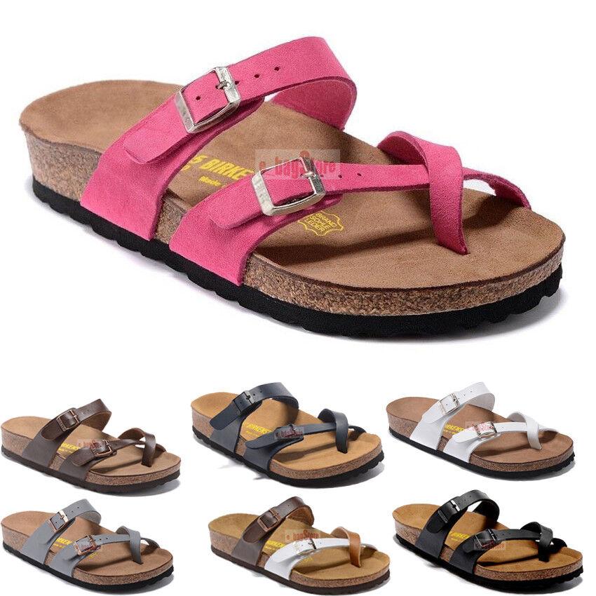 65cdf94fe70 Details about Birkenstock Mayari Birko Flor Sandals Women s Shoes EVA Sole  Block EUR 34-44