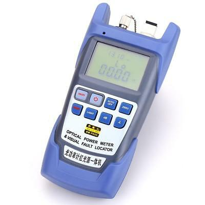 Fiber Optical Power Meter -70 To 10dbm 1mw Cable Tester Visual Fault Locator