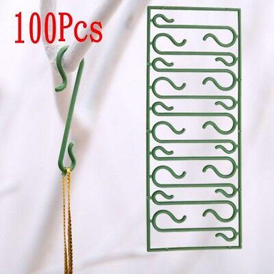 100 Pcs Christmas Tree Hooks For Xmas Tree Ornaments Pendant DIY Home Decoration](Diy Ornaments For Christmas)