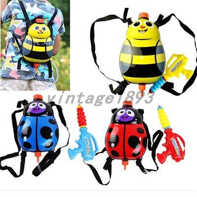 Beetle Super Soaker Water Guns Powerful Pistol Squirt Gun Backpack Bee Shape Toy (Backpack Water Gun)