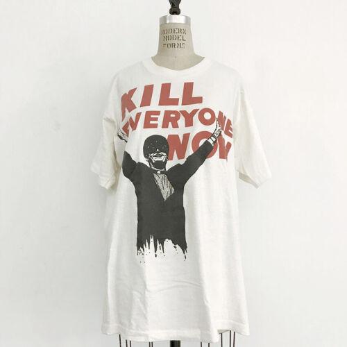 ⭕ 90s No means No shirt : punk hardcore dead kennedys face no more Nirvana 80s